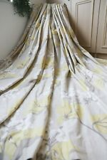 LAURA ASHLEY MILLWOOD CAMOMILE COTTON LINEN EYELET CURTAINS,TRUFFLE,64WX85D,1OF3