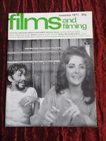 FILMS AND FILMING- UK MOVIE MAGAZINE- NOV 1971 - ROBERT ALTMAN -  CHATOS LAND