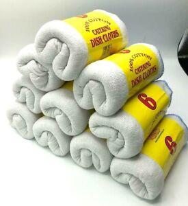 100% Soft Cotton Dusters Cleaning, Dish Cloths Polish Detailing Hygiene30 x 30cm