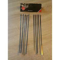 Colliers inox 300mm (Kit de 10) pour bande thermique echappement moto