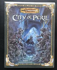 Dungeons & Dragons City Of Peril Battle Map Pack mint role playing wotc Sealed