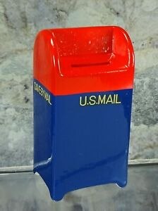 Vintage Napco Japan Ceramic Mail Box Savings Bank New in Original Box