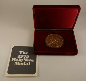 1975 The Holy Year Medal -- Pope Paul VI by MACO