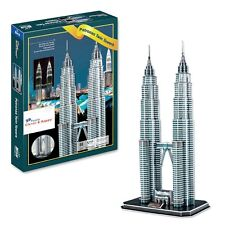 Malaysian Petronas Twin Towers 3D Puzzle (86 pcs) New