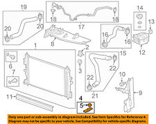 GM OEM-Radiator Lower Bracket 13337826
