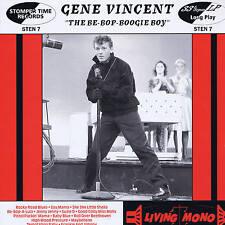 """GENE VINCENT - THE BE-BOP-BOOGIE BOY - (Deleted) U.K 10"""" VINYL ROCKABILLY LP"""