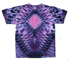 Signature PINK DIAMOND Hand-dyed Tie Dye T-Shirt Size LARGE