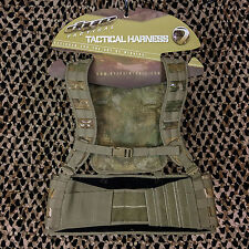 New Dye Tactical Assault Molle Paintball Vest Harness Pod Pack - DyeCam Camo