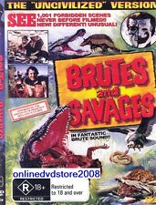 BRUTES & SAVAGES - Rare Documentary (1001 Forbidden Scenes) DVD NEW SEALED