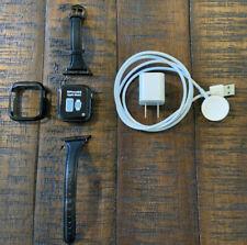 Apple Watch Series 4 40 mm Space Gray Aluminum Case Black (GPS)