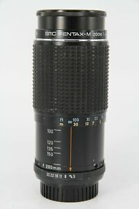 PENTAX-M 80-200/4.5 SMC - With a Fault - Professionally Tested