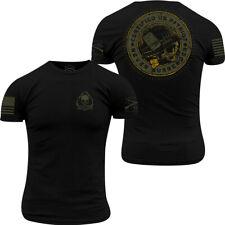 Grunt estilo Patriot Sello Camiseta-Negro
