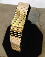 GEMEX GENTS Vintage Ultra Thin G.F. Top Watchband 16mm Straight Pin Curved End
