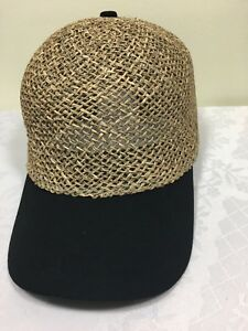 Brand New Capas Baseball Seagrass Hats with Tag