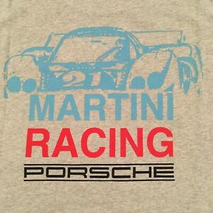 PORSCHE DESIGN MEN'S MARTINI RACING SHORT SLEEVED T~SHIRT EURO 3XL/USA XXL NIBWT