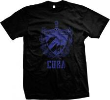 República de Republic of Cuba Coat of Arms Cuban Pride Havana Mens T-shirt