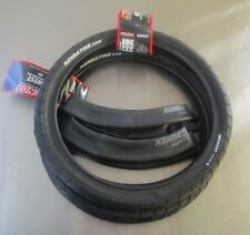 "Jr. Dragster 16""  Front Tires Kenda KWest Treaded Tires (set of 2) with Tubes"