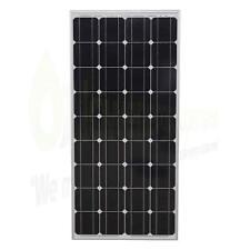 100w Lowenergie Solar Panel Mono-Crystalline PV Photo-voltaic Boat Caravan Home