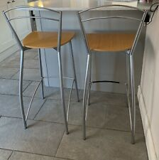 Two used kitchen breakfast bar stools