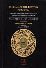 ISLAM  Journal of the History of Sufism Special Issue The Qadiriyya Order
