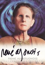 Complete Star Trek Deep Space Nine Rene Auberjonois / Odo Variant A10 Auto Card