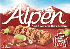 Alpen Fruit & Nut with Milk Chocolate Bars 3 x 5 x 29g