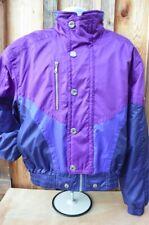 PHENIX Ski Jacket Coat Vest & Hood Snowboard MEDIUM MENS PURPLE BLUE