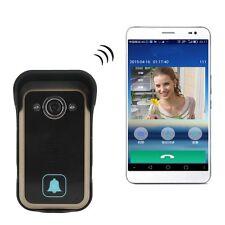 Wireless WiFi IP Remote Video Camera Door Phone Rainproof Doorbell Home Security