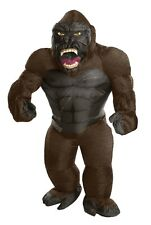 Rubies King Kong Inflatable Giant Gorilla Animal Adult Halloween Costume 820584