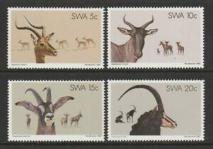 S.W.A.1980 Nature Conservation set SG 345-348 Mnh.