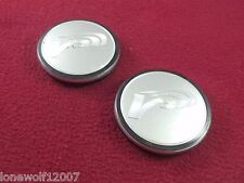 Volk Racing Wheels Silver Custom Wheel Center Caps Set of 2