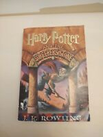 Harry Potter and the Sorcerer's Stone Paperback - First Ed/Print - J.K. Rowling