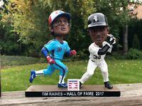 Tim Raines Chicago White Sox Montreal Expos Dual Double HOF Bobblehead
