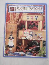 Pocket Patch 5 - Sara Massey folk art tole painting pattern