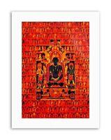 PAINTINGS BUDDHA TIBETAN THANGKA Picture Painting Portrait Canvas art Prints