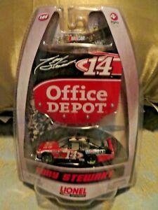 NASCAR Lionel  #14 Tony Stewart Office Depot 1:64  Chevy race car SEALED