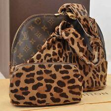 Authe  Louis Vuitton Unborn Calf Azzedine Alma Hand Bag Limited M99032 #S2988