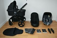 Travel System 3in1 iCandy Peach 3 in Jet Black inc Seat Liner