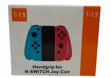 N-Switch Joy-Con L/R Wireless Bluetooth Controllers Set,Red & Blue