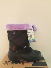 Kamik Iceberry Pac  Waterproof  Boots Insulated Big Kids Size 5 NEW NIB