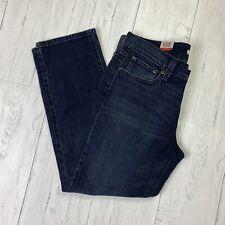 Levi's Women's Jeans Denim Boyfriend Mid Rise Tapered Leg Dark Wash Size 28