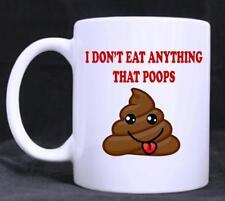 Funny Vegetarian,Vegan,Novelty 11oz Tea/Coffee Mug, birthday, Gift, Office,Lady