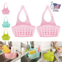 2 Sink Organizer Sponge Holder Kitchen Hanging Storage Basket Bathroom Soap Rack