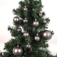 Buri Sapin de Noël 180cm+24er-Set Boules D'Arbre de Noël Boules de Noël Déco