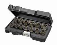 Bolt Remover And Nut Extractor Set Damaged Rusted Socket Impact Wrench Tools