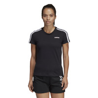 Adidas Women Tshirt SportStyle Tee Essentials 3-Stripes Training DP2362 Running