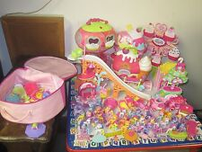 Huge Lot of My Little Pony Ponyville Playset Ferris Wheel Roller Coaster