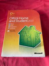 Microsoft Office Home & Student 2010 Family Pack w/Key Untested See Notes 1 of 2