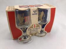 Victoria Stemware 2¼ Oz.Cordial Glass Set Made In England
