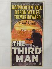 "[Movie Print Ad] 1949 The Third Man Carol Reed Orson Wells 8.5""×11"" Reproduction"